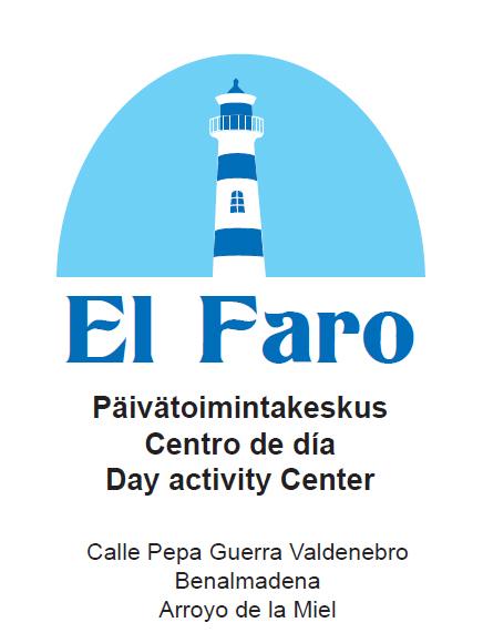 El Faro Päivätoimintakeskuksen logo
